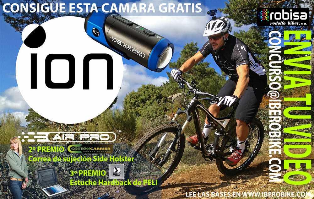Sorteo de una cámara ION AIR PRO en Iberobike