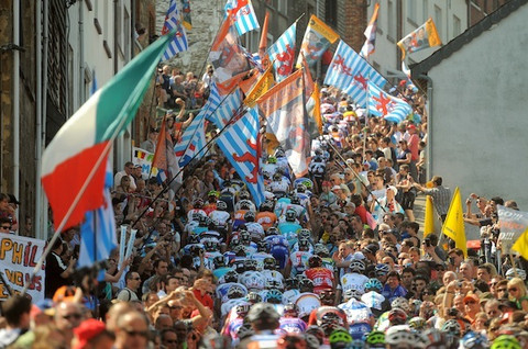 Cycling : 97th Liege - Bastogne - Liege 2011