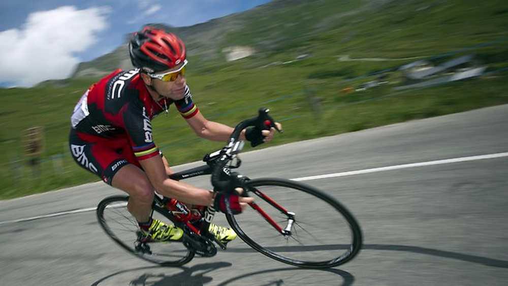 Cadel Evans Stage 11 TDF 12