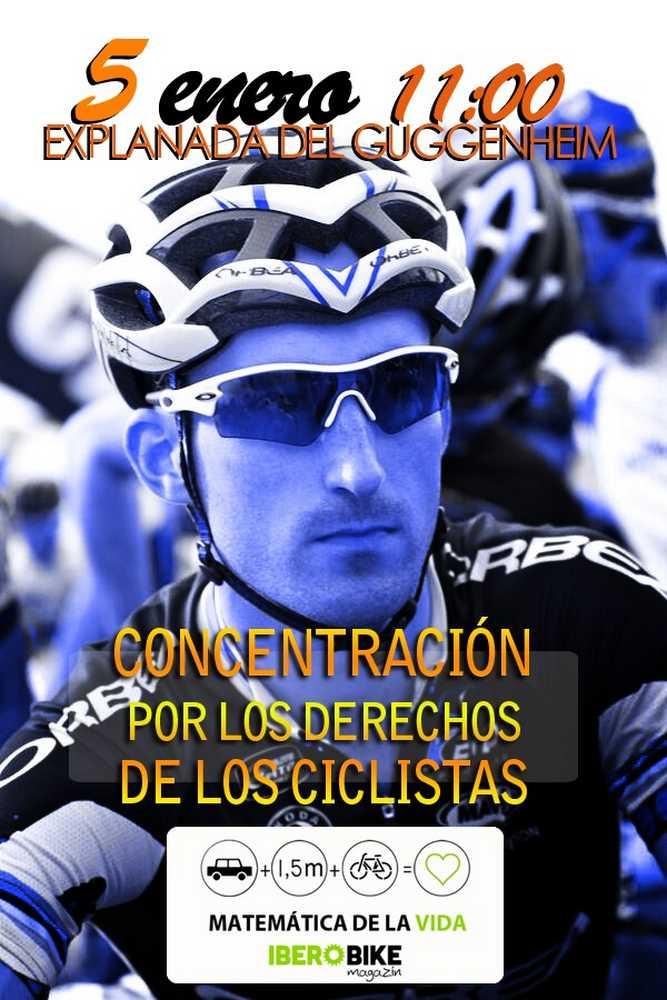 Concentracion derechos ciclistas