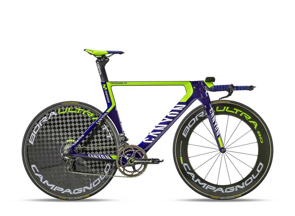 movistar team,canyon,bicicleta