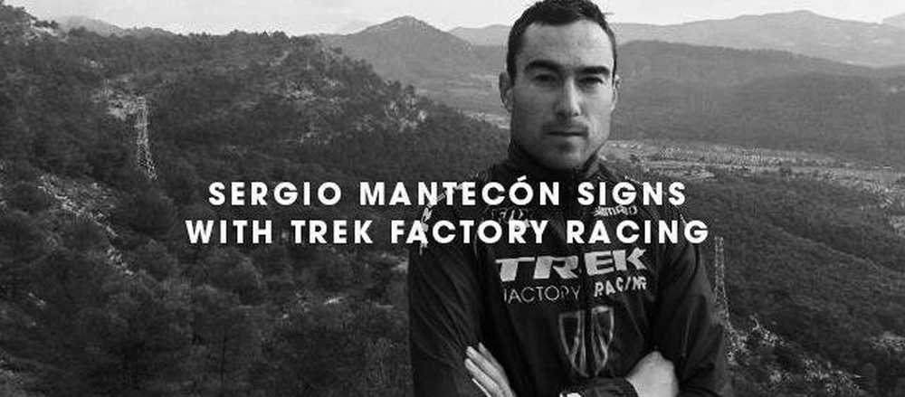 sergio mantecon con trek internacional