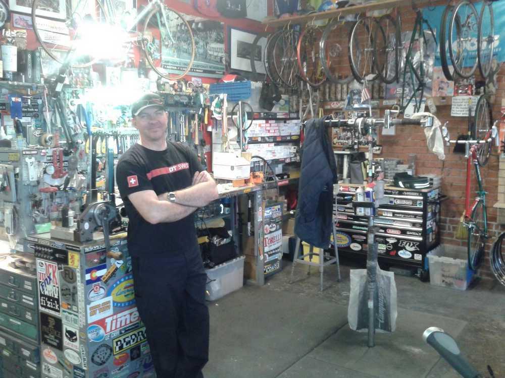 Jim Potter Vecchio´s Bicicletteria
