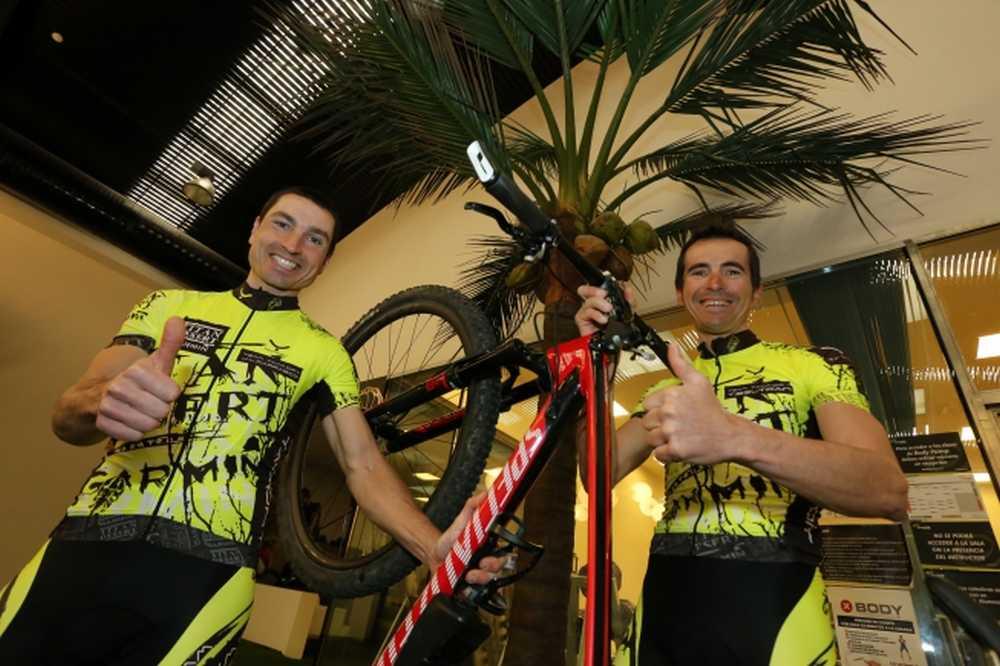 Manuel Beltrán y  José Luis Carrasco correrán la Titan Desert 2014