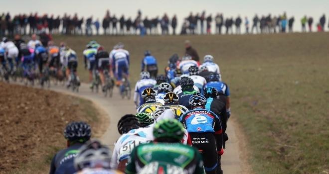 peloton Tour de Flandes