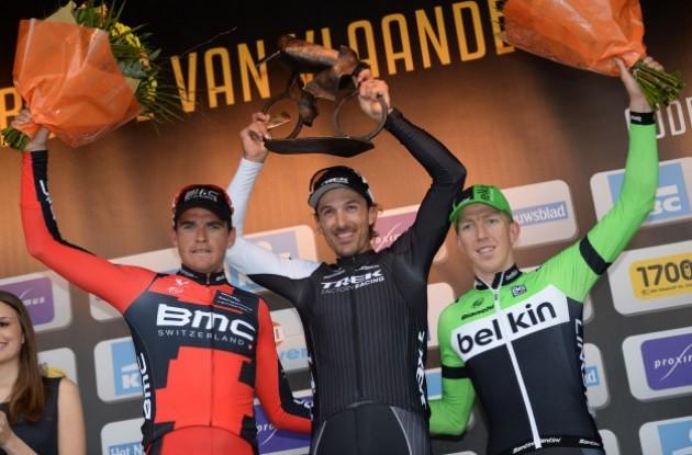 podio flandes 2014