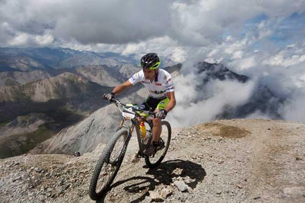 Joan Pons sexta etapa ironbike 2014