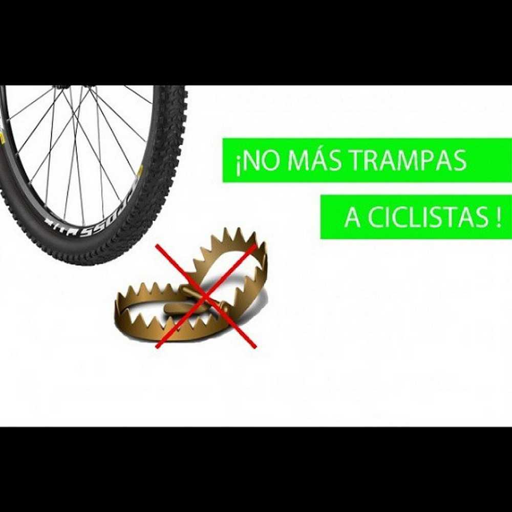 """Herido grave un #ciclista por culpa de una trampa destinada a """"Cazar""""  Bikers. #ciclismo #mtb #trampa #hastacuando https://www.iberobike.com/herido-grave-un-ciclista-al-caer-en-una-trampa-en-mitad-del-monte/"""