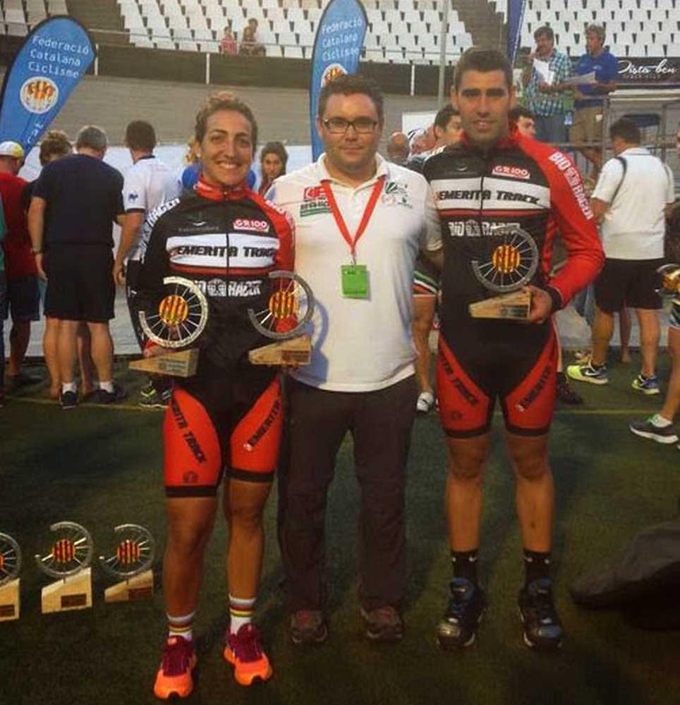 """Galván y Bonnín suben al podio del Trofeo de Pista """"Ciutat de Barcelona-Memorial Miquel Poblet"""""""