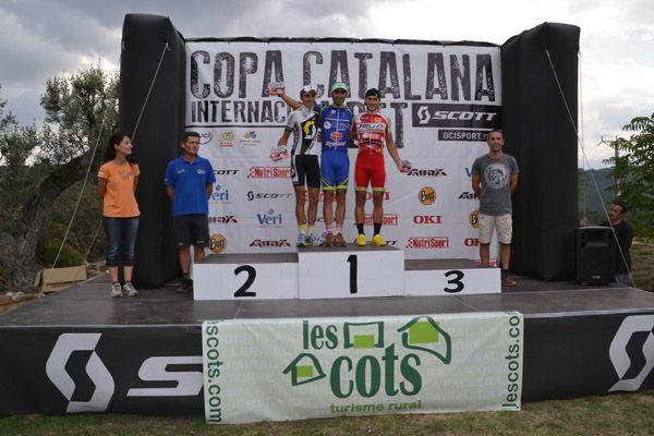 podio masculino Les Cots de Lloberola