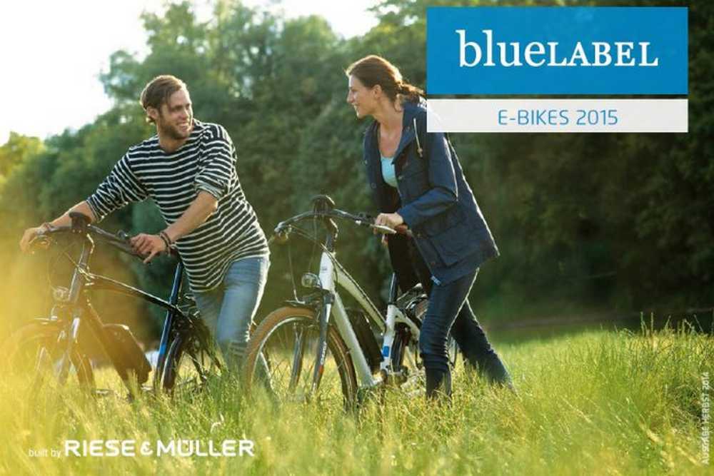 Catálogo bicicletas BlueLABEL 2015