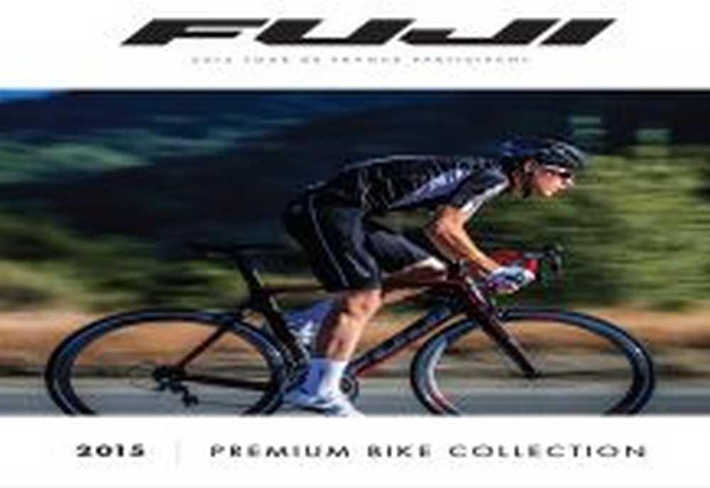 Catálogo bicicletas Fuji 2015