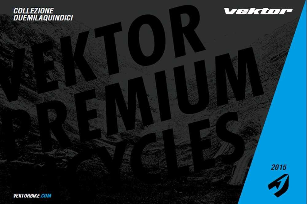 Catálogo bicicletas Vektor 2015