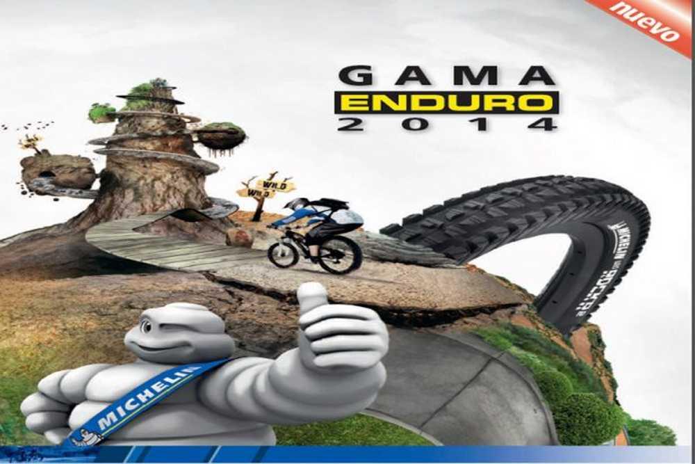 Catálogo neumáticos Michelin Enduro 2015