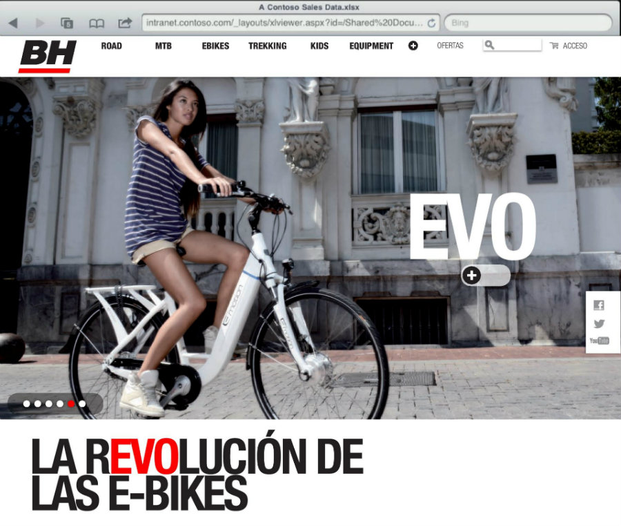 Nueva web BH