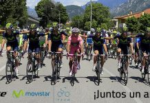 catlike y movistar team