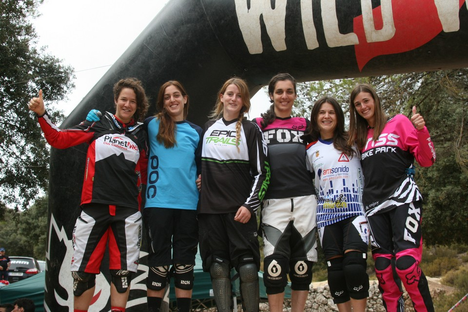 podio chicas Fenasosa Fun Cup 11
