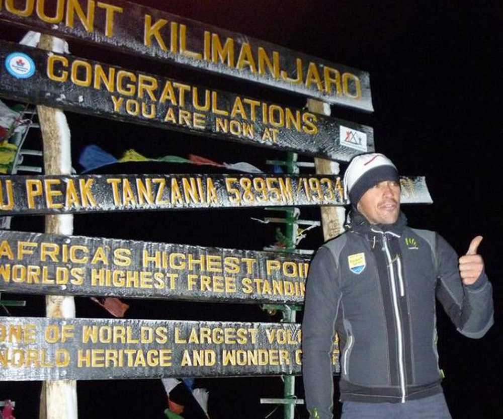 Alberto Contador Kilimanjaro