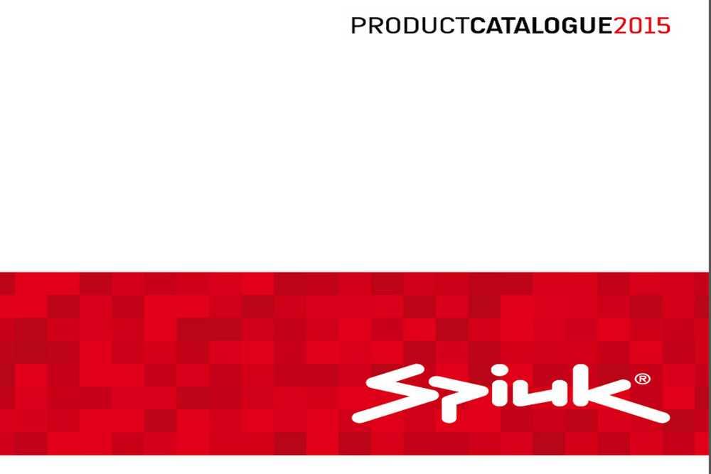 Catálogo Spiuk 2015