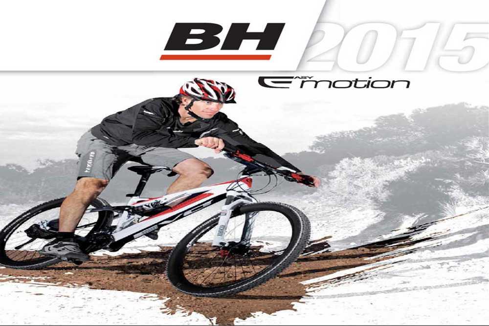 Catálogo bicicletas BH Easy Emotion 2015