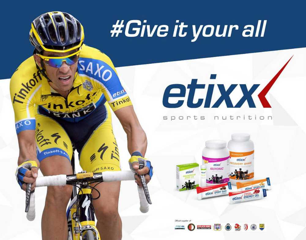 Etixx Sports Nutrition llega a España