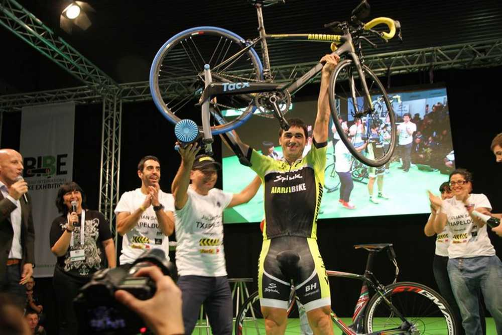 Julian Sanz record guiness bibebike