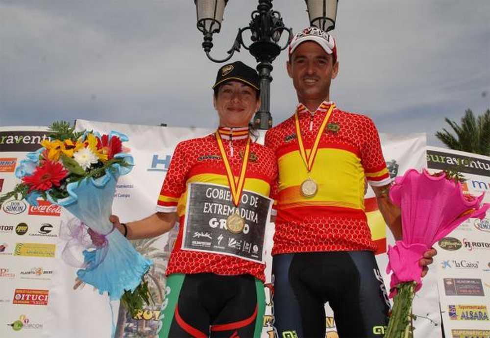 Paco Mancebo y Susana Alonso Campeones de España Maratón BTT 2014
