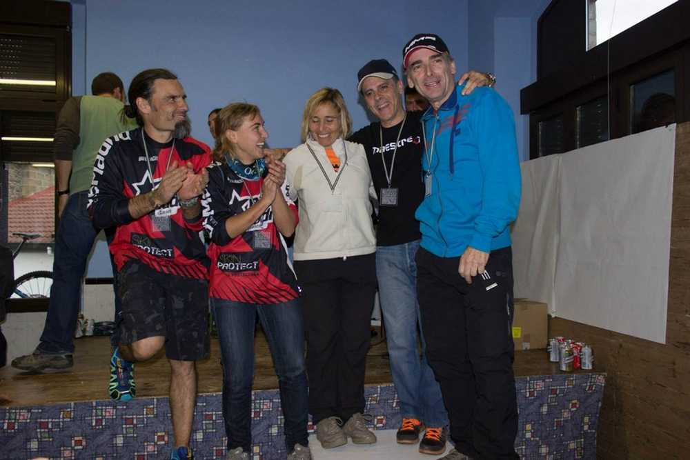 Podium Enduro Mixto