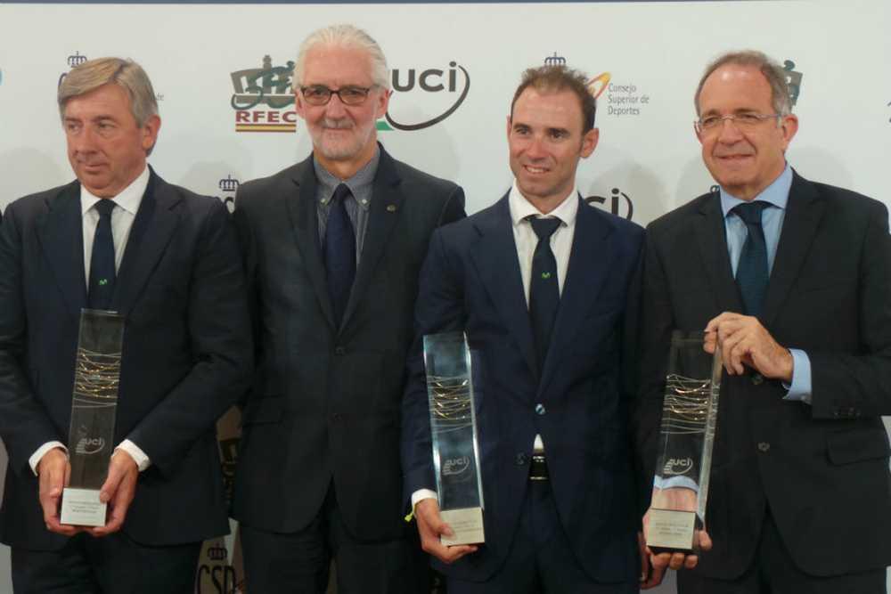 Valverde Ganador premio uci 2014