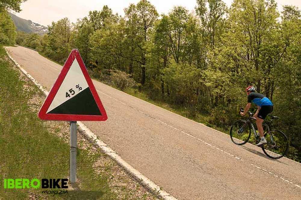 afrontar psicologicamente retos sobre la bicicleta