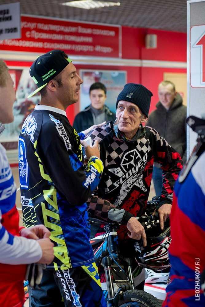 Cedric Gracia & Jordi Bago in Russia