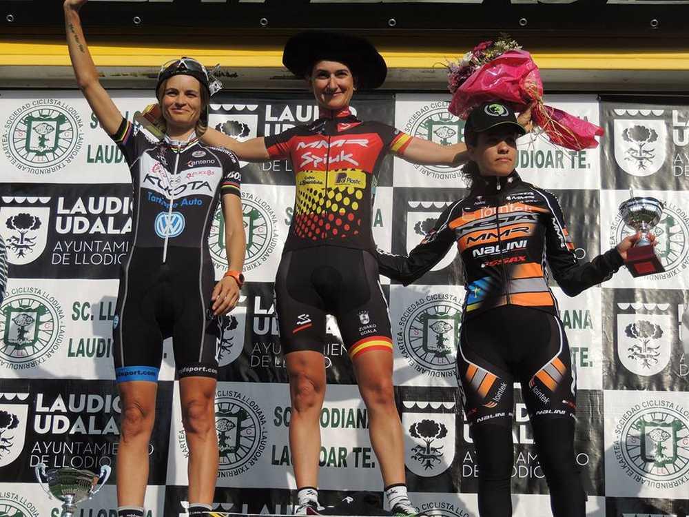 podio femenino cx llodio