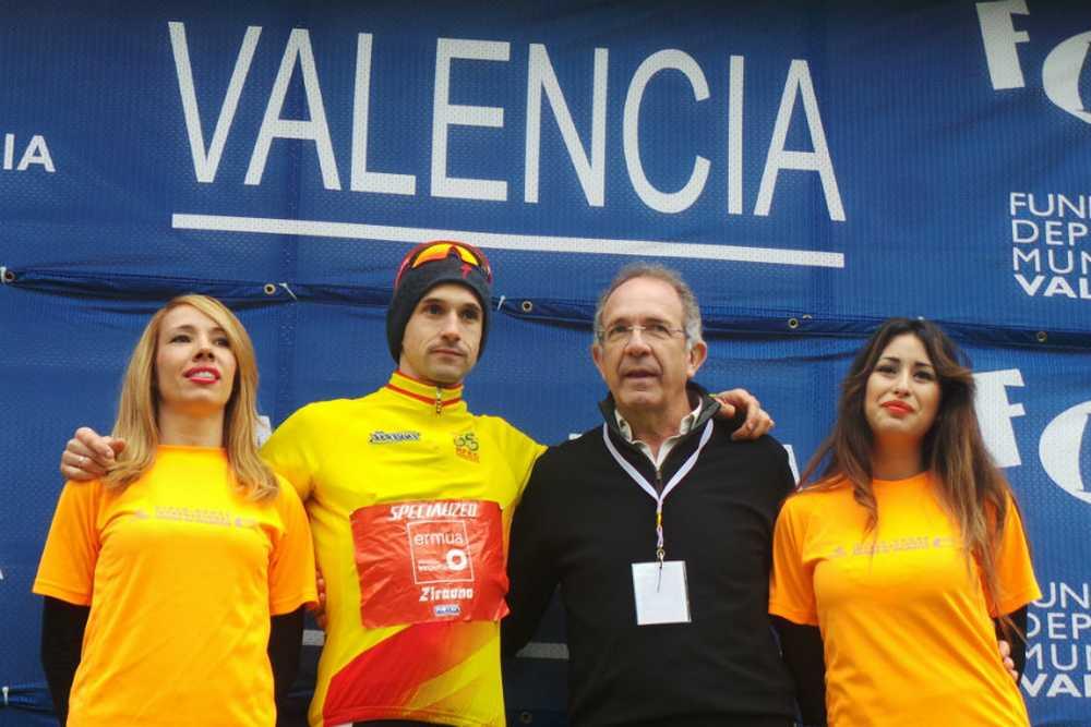 Aitor amarillo Copa de España ciclocross 2014