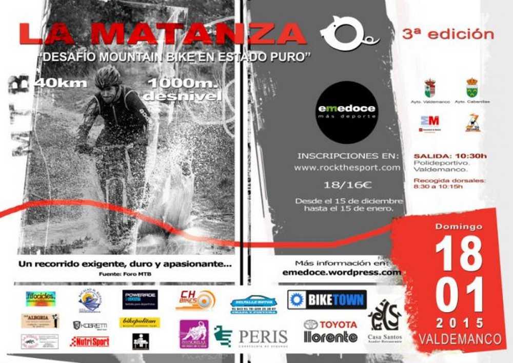 CARTEL 3 ª Edicion LA MATANZA