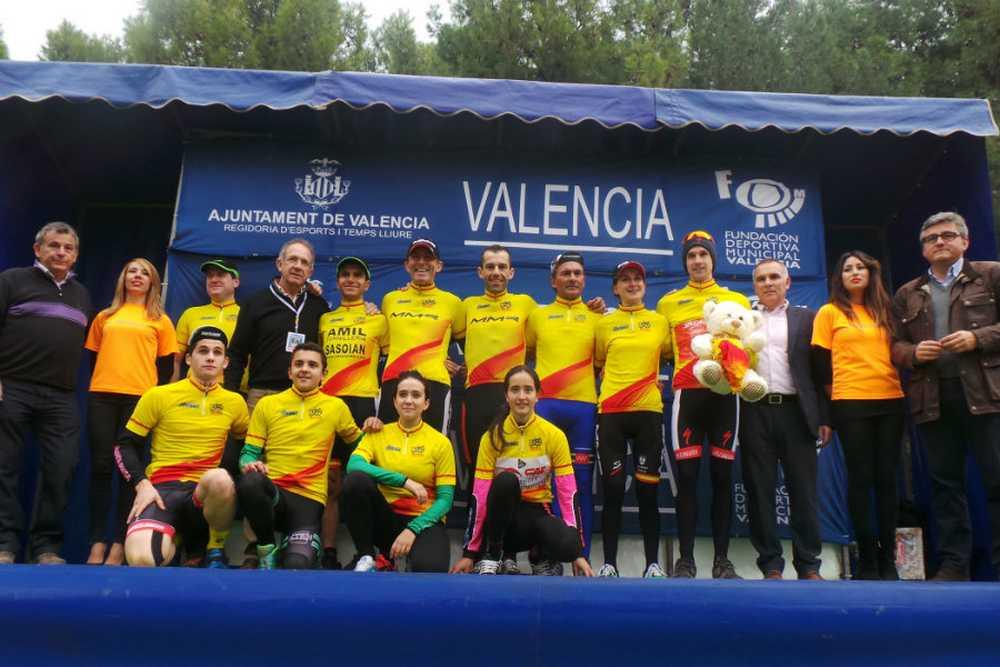 Campeones Copa de españa ciclocross 2014