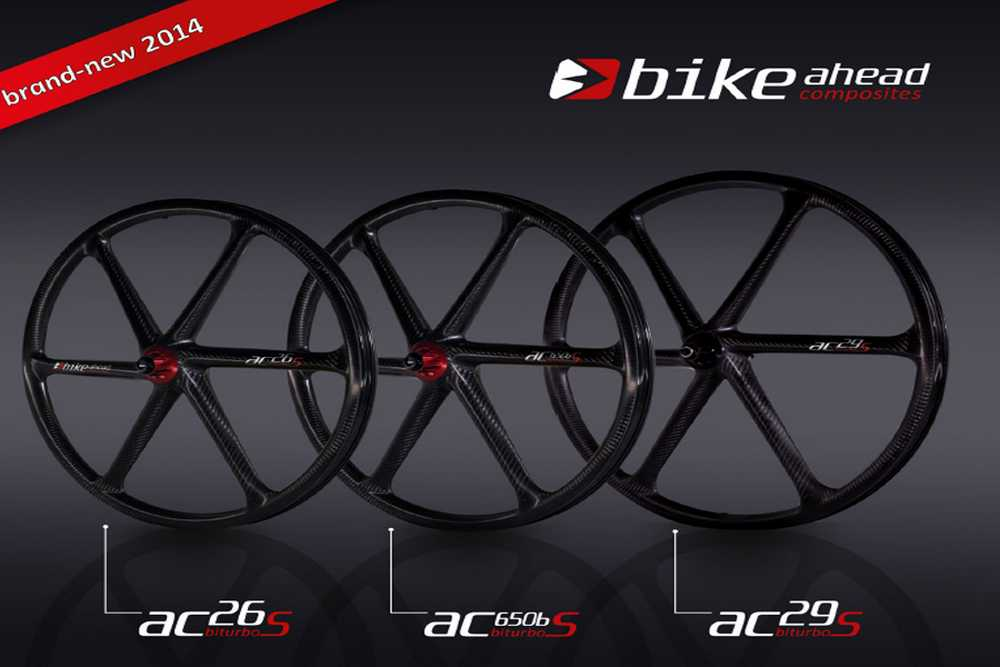 Catálogo Bike Ahead Composites 2014