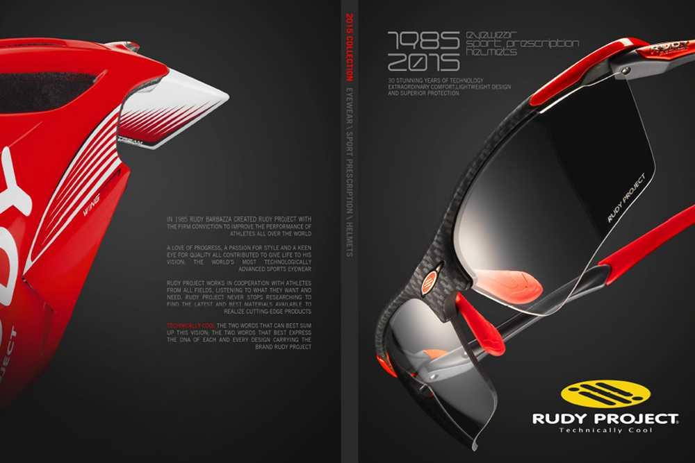 Catálogo Rudy Project 2015