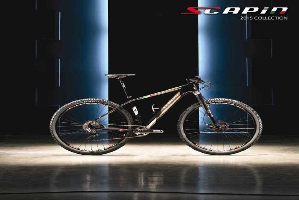 Catálogo bicicletas Scapin 2015