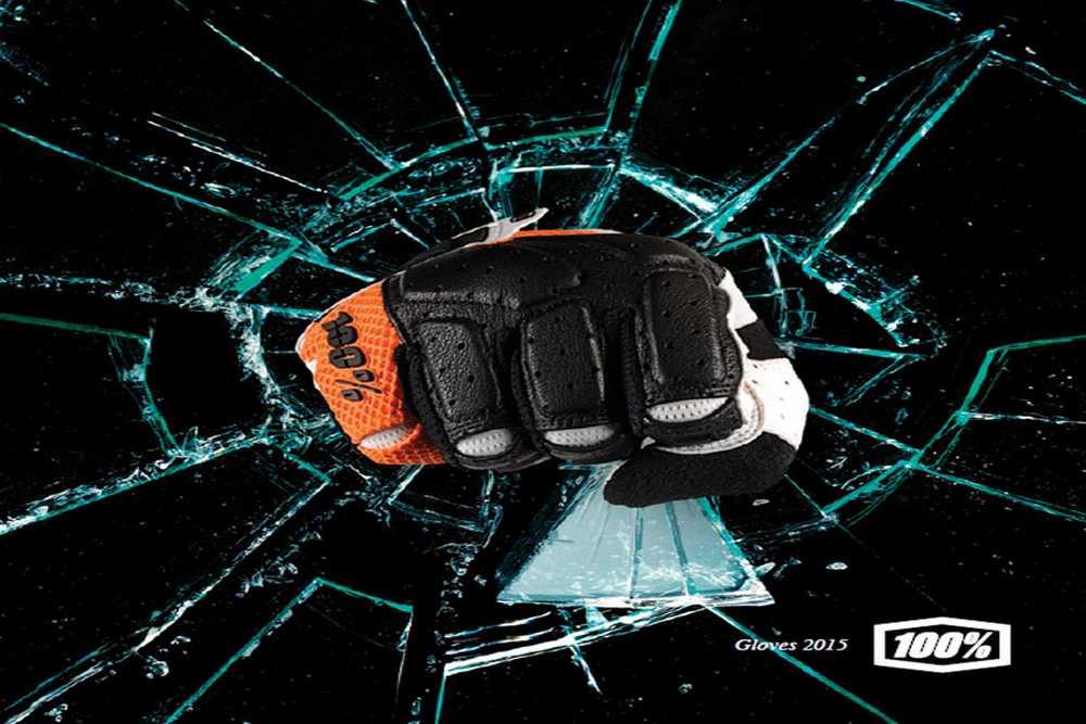 Catálogo guantes 100% 2015