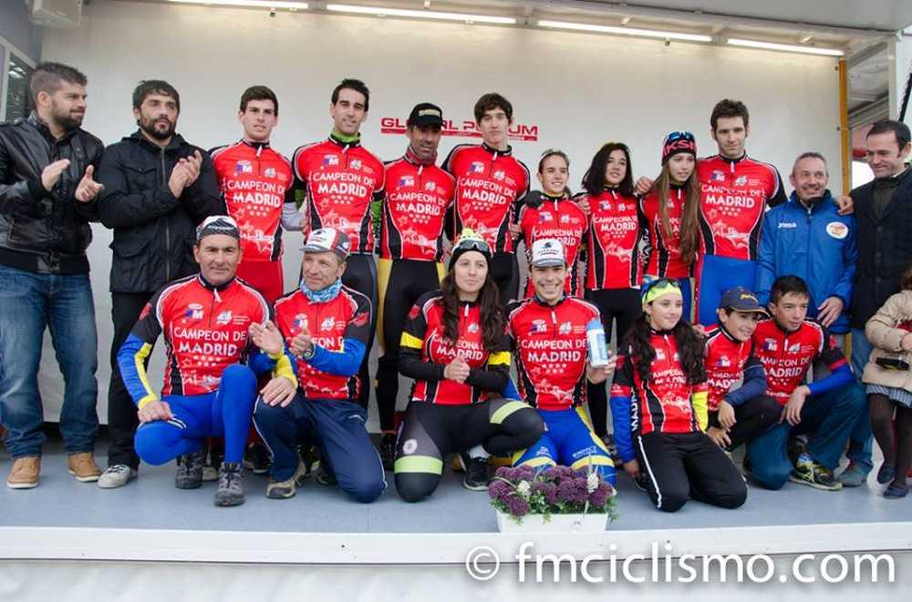 Vencedores del Campeonato Comunidad de Madrid ciclocross 2014