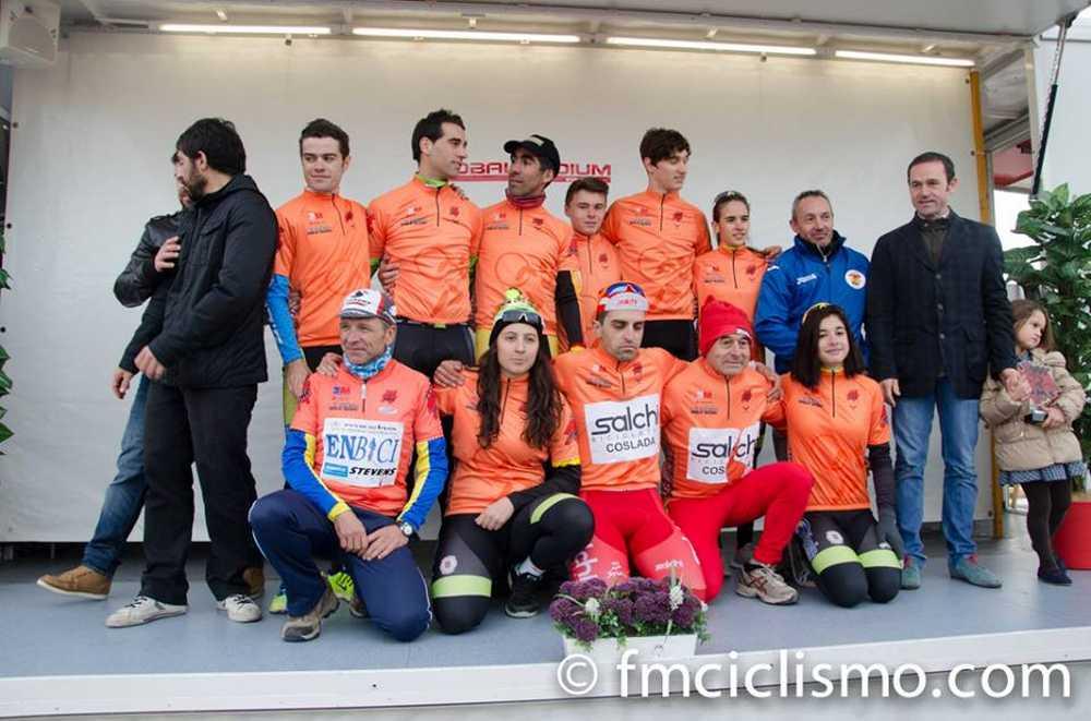 Vencedores del Copa Comunidad de Madrid ciclocross 2014