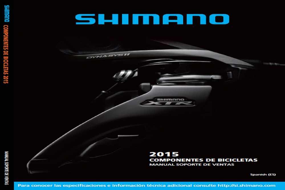 Catálogo Shimano 2015 MTB