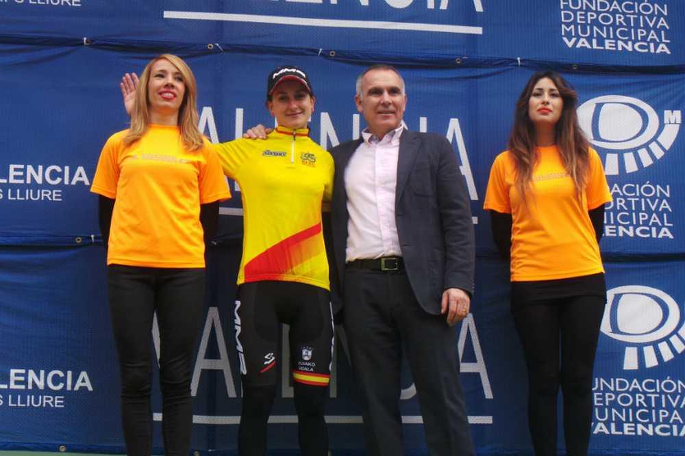 podio Aida Nuño Copa de España 2015