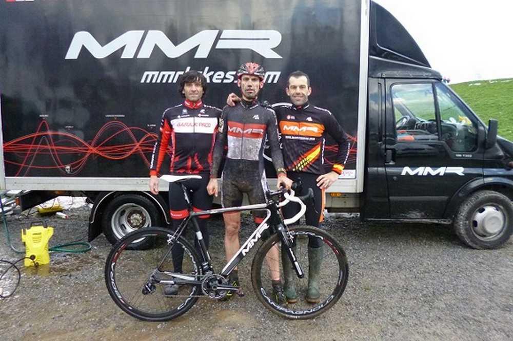 Bruno Prieto campeón del mundo ciclocross categoría 35-39
