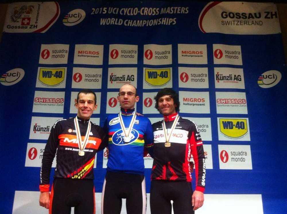 Bruno y Marco Prieto , Castor campeonato del mundo ciclocross