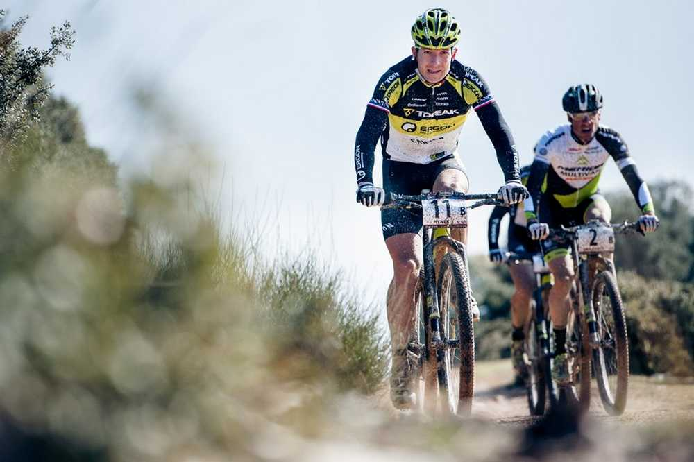 Alban Lakata y Kristian Hynek Andalucia Bike Race ABR 2015
