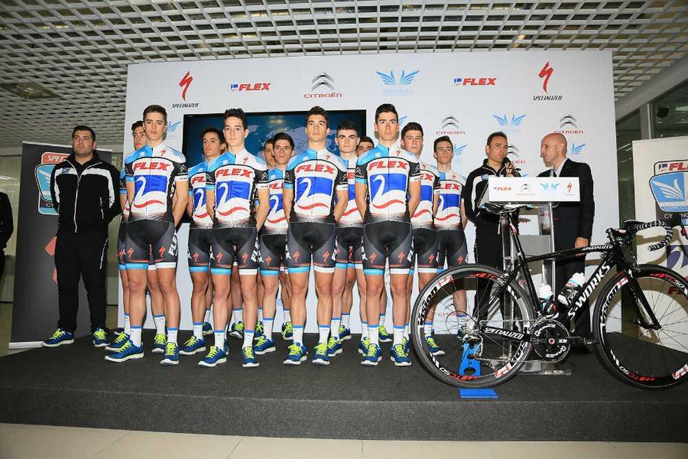 Alberto Contador equipo Flex-Junior
