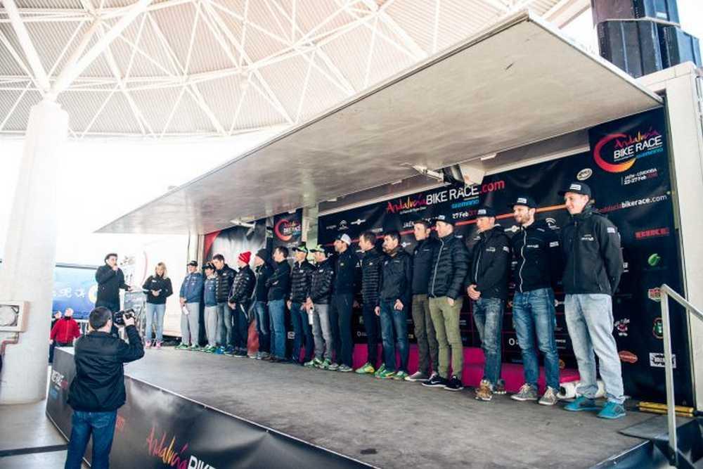 Andalucia bike race presentación ABR 2015