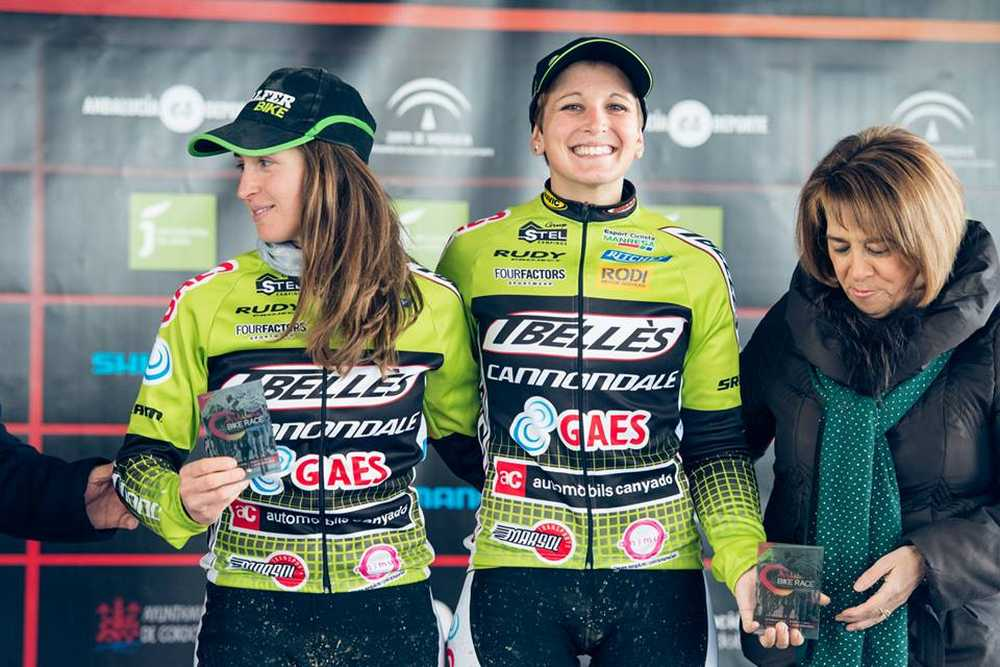 Anna Villar y Rocío Marín ABR Andalucia Bike Race 2015