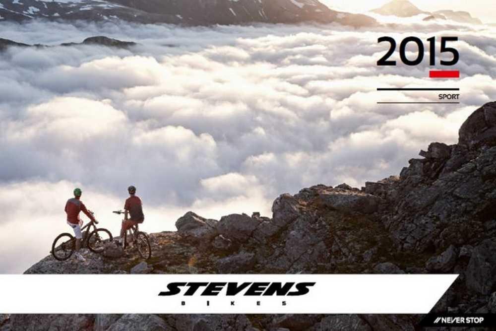 Catálogo bicletas Stevens 2015
